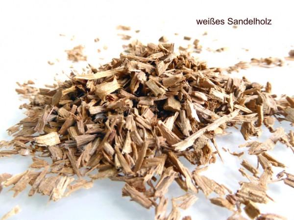 weißes Sandelholz – intensiv duftend – naturbelassen