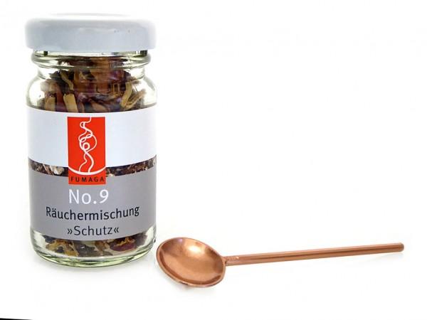 """Räuchermischung No.9 """"Schutz"""" im Glas"""