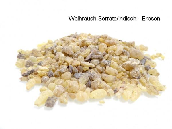 Weihrauch indisch - Boswellia serrata - naturbelassene Erbsen
