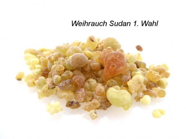 Weihrauch Sudan 1. Wahl - naturbelassen
