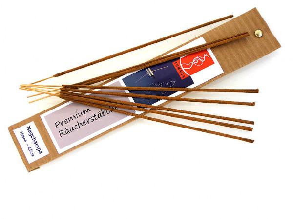 """Nagchampa - """"Hasna - Glück"""" handgemacht - Premium Räucherstäbchen"""