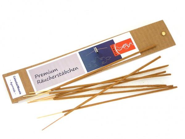 """Celestial/Masala """"Ayurveda"""" - handgemacht - Premium Räucherstäbchen"""