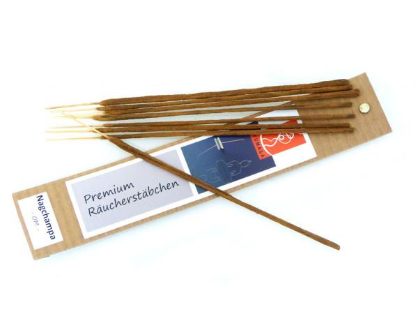 """Nagchampa """"OM"""" - handgemacht - Premium Räucherstäbchen"""