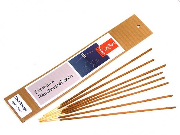 """Nagchampa """"Agni - Feuer """" - handgemacht - Premium Räucherstäbchen"""