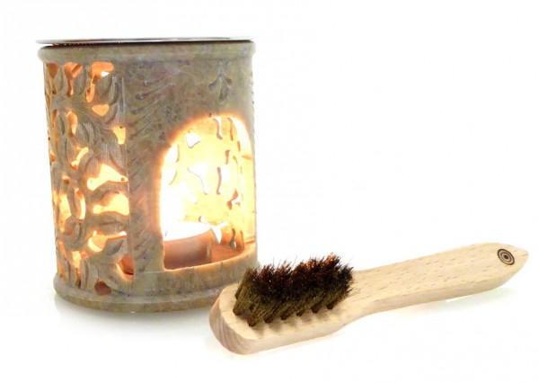 """Räucherlampe """"Sonne"""" aus Speckstein H: 10 cm"""