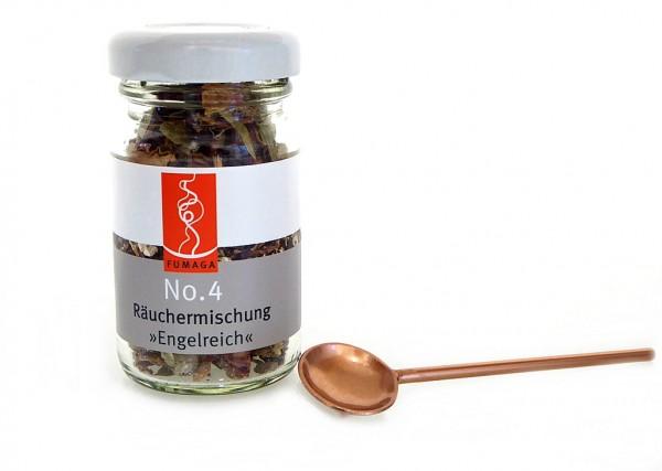 """Räuchermischung No.4""""Engelreich""""im Glas"""
