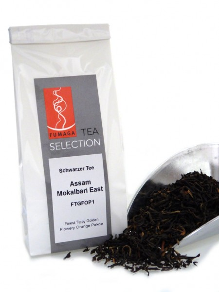 Schwarzer Tee Assam FTGFOP1 Mokalbari East