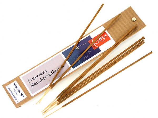 """Nagchampa """"Vishnu - Der Sonnengott"""" - handgemacht - Premium Räucherstäbchen-"""