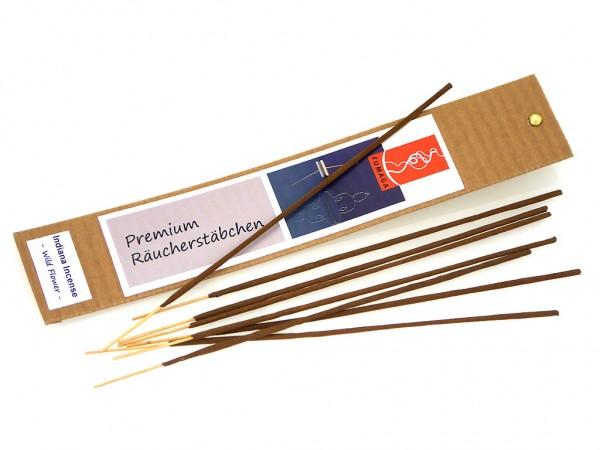 """Indiana Incense """"Wild Flower"""" - handgemacht - Premium Räucherstäbchen"""