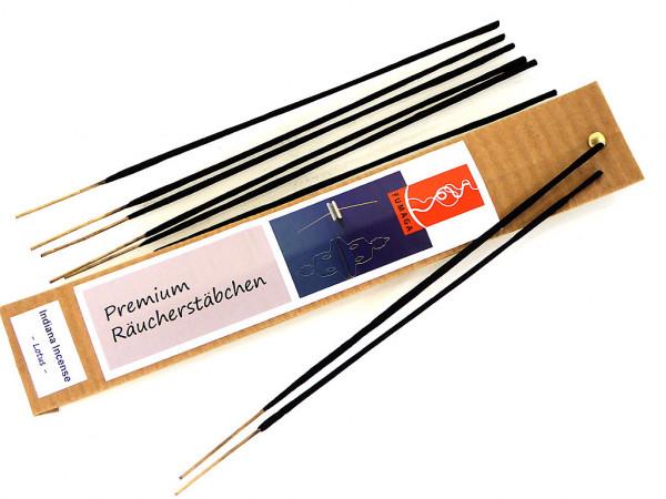 """Indiana Incense """"Lotus"""" - handgemacht - Premium Räucherstäbchen"""
