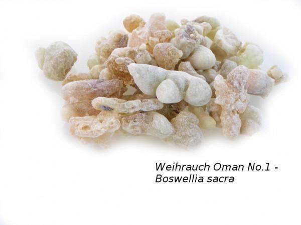Boswellia sacra - Weihrauch Harz Oman No.1 - naturbelassen (Royal Hojari*)