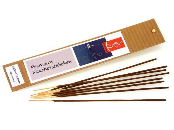 """Indiana Incense """"Spicewood"""" - handgemacht - Premium Räucherstäbchen"""