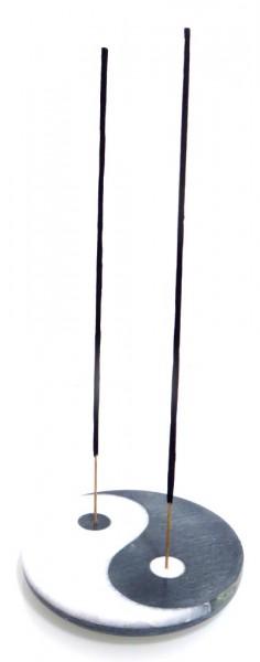 "Räucherstäbchenhalter ""Yin Yang"" aus Marmor Ø 10,0 cm"