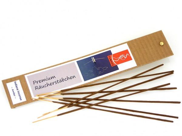 """Indiana Incense """"Amber"""" - handgemacht - Premium Räucherstäbchen"""