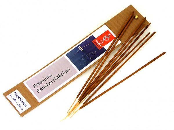 """Nagchampa """"Ananda - Genuss"""" - handgemacht - Premium Räucherstäbchen"""