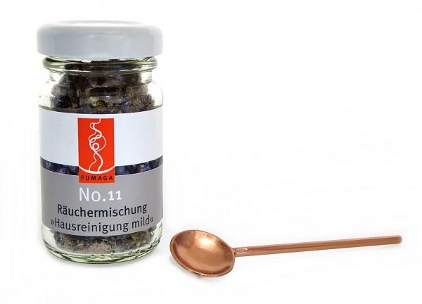 """Räuchermischung No.11 """"Hausreinigung"""" im Glas"""