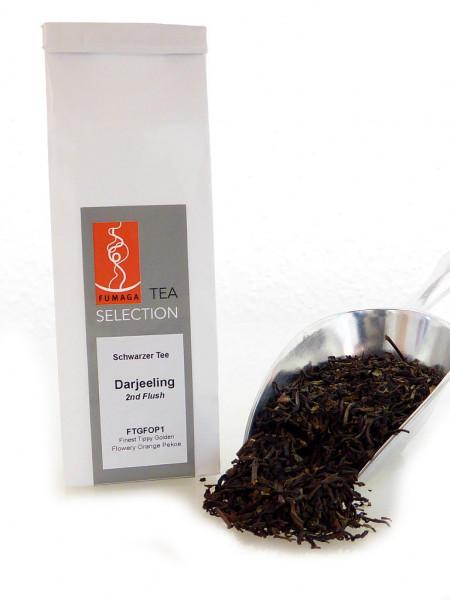 Schwarzer Tee Dajeeling 2nd Flush - FTGFOP1